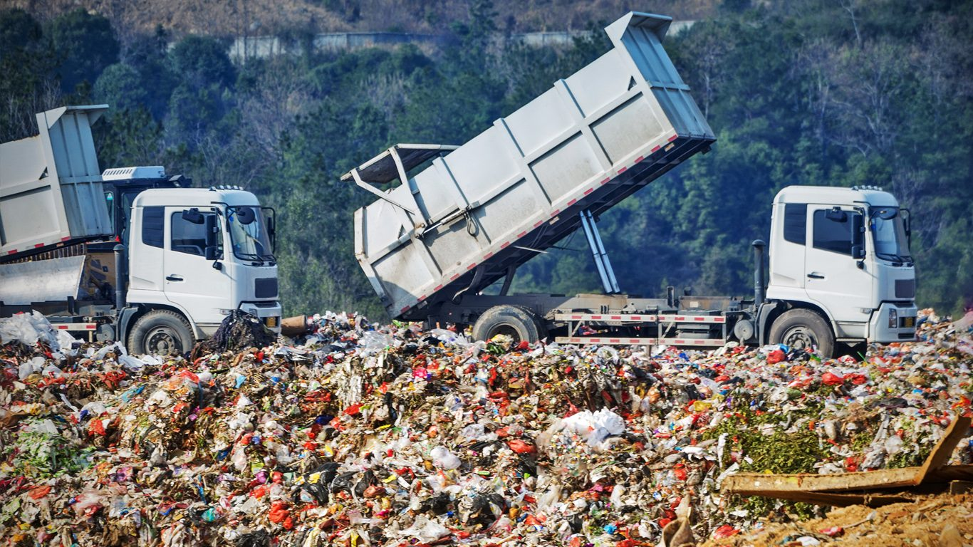 The waste Levy was introduced mainly from 3.7 million tonnes of interstate waste being dumped in Queensland landfills.